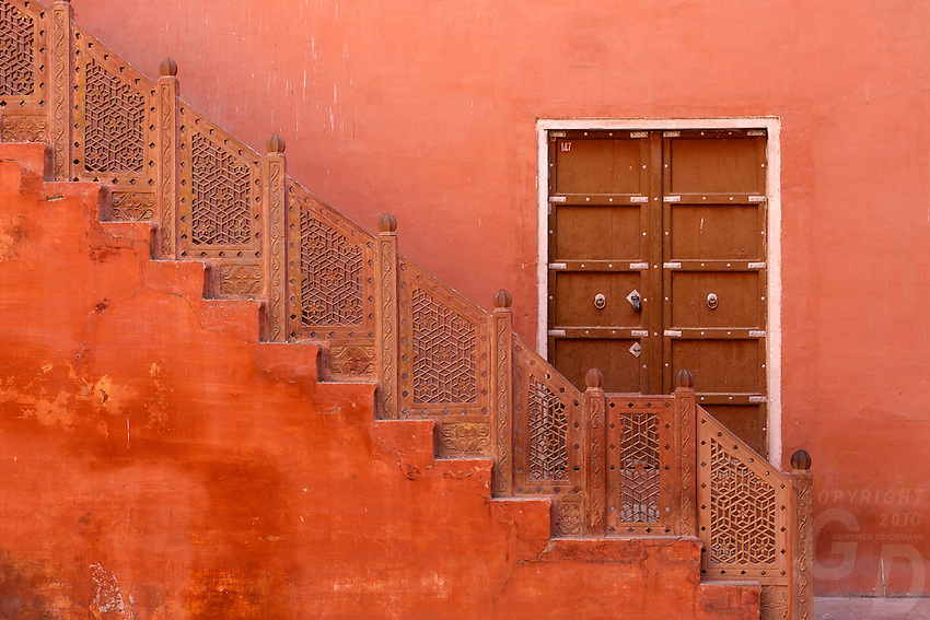At the fort in Bikaner Rajasthan India