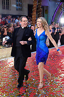 Rev. Richard Coles &amp; Charlotte Hawkins at the launch of the new series of &quot;Strictly Come Dancing&quot; at New Broadcasting House, London, UK. <br /> 28 August  2017<br /> Picture: Steve Vas/Featureflash/SilverHub 0208 004 5359 sales@silverhubmedia.com