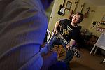 Careers Wales - Guitar Teacher Kevin Webb.10.05.12.©Steve Pope