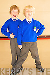 Kilocrim NS Junior Infants: Samuel Sheehan & Luke Dillon.