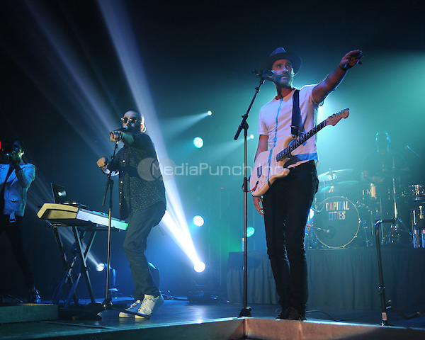 MIAMI BEACH , FL - JUNE 27: Sebu Simonian and Ryan Merchant of Capital Cities perform at the Fontainebleau on June 27, 2015 in Miami Beach, Florida. Credit: mpi04/MediaPunch