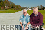 Pat Dawson regional manager of the National Parks and Widlife and Gerry Murphy Horticultural Advisor who are busy working on gardens and the grounds of  Killarney House