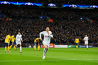 Tottenham Hotspur's Son Heung-Min celebrates scoring the opening goal <br /> <br /> Photographer Craig Mercer/CameraSport<br /> <br /> UEFA Champions League Round of 16 Second Leg - Tottenham Hotspur v Juventus - Wednesday 7th March 2018 - Wembley Stadium - London <br />  <br /> World Copyright &copy; 2017 CameraSport. All rights reserved. 43 Linden Ave. Countesthorpe. Leicester. England. LE8 5PG - Tel: +44 (0) 116 277 4147 - admin@camerasport.com - www.camerasport.com