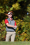 31 October 2016: NC State University's Stephen Franken. The Third Round of the 2016 Bridgestone Golf Collegiate NCAA Men's Golf Tournament hosted by the University of North Carolina Greensboro Spartans was held on the West Course at the Grandover Resort in Greensboro, North Carolina.