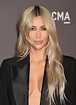 LOS ANGELES, CA - NOVEMBER 04: TV personality Kim Kardashian attends the 2017 LACMA Art + Film Gala Honoring Mark Bradford and George Lucas presented by Gucci at LACMA on November 4, 2017 in Los Angeles, California.
