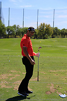 John Rahm (ESP) on the range during the 2nd round at the WGC Dell Technologies Matchplay championship, Austin Country Club, Austin, Texas, USA. 23/03/2017.<br /> Picture: Golffile | Fran Caffrey<br /> <br /> <br /> All photo usage must carry mandatory copyright credit (&copy; Golffile | Fran Caffrey)