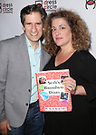 Seth Rudetsky and Mary Testa attend the Seth Rudetsky Book Launch Party for 'Seth's Broadway Diary' at Don't Tell Mama Cabaret on October 22, 2014 in New York City.