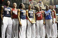 SAN ANTONIO, TX - APRIL 3: Jayne Appel and Nnemkadi Ogwumike were named to the State Farm Coaches' All-America Team on April 3, 2010 in San Antonio, Texas.