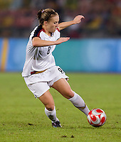 Amy Rodriguez. The USWNT defeated Brazil, 1-0, to win the gold medal during the 2008 Beijing Olympics at Workers' Stadium in Beijing, China.