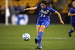 02 December 2011: Duke's Mollie Pathman. The Duke University Blue Devils defeated the Wake Forest University Demon Deacons 4-1 at KSU Soccer Stadium in Kennesaw, Georgia in an NCAA Division I Women's Soccer College Cup semifinal game.