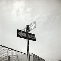 One way signs<br />