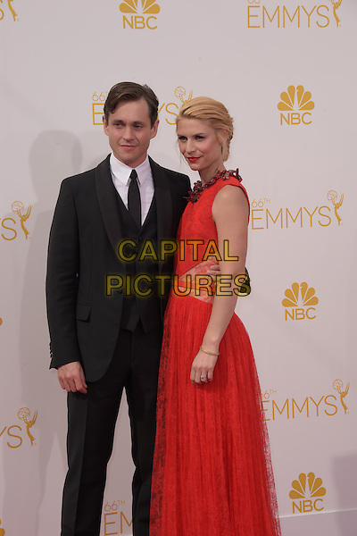 Claire Danes, Hugh Dancy attends The 66th Primetime Emmy Awards held at Nokia Live in Los Angeles, California on August 25,2014                                                                               &copy; 2014 Hollywood Press Agency<br /> CAP/DVS<br /> &copy;DVS/Capital Pictures