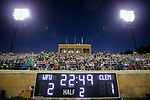 A crowd of 4,781 fans were in attendance to watch the Wake Forest Demon Deacons take on the Clemson Tigers in ACC men's soccer action at Spry Soccer Stadium on September 29, 2017 in Winston-Salem, North Carolina.  The Demon Deacons defeated the Tigers 3-2 in 2OT.  (Brian Westerholt/Sports On Film)