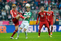 Fussball Bundesliga 2012/13: Bayern Muenchen - Fuerth