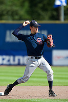 14 September 2009: Jason Holowaty of Great Britain throws the ball during infield practice prior to the 2009 Baseball World Cup Group F second round match game won 15-5 by South Korea over Great Britain, in the Dutch city of Amsterdan, Netherlands.