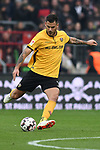 01.12.2018,  GER; 2. FBL, FC St. Pauli vs SG Dynamo Dresden ,DFL REGULATIONS PROHIBIT ANY USE OF PHOTOGRAPHS AS IMAGE SEQUENCES AND/OR QUASI-VIDEO, im Bild Einzelaktion Hochformat Dario Dumic (Dresden #03) Foto © nordphoto / Witke