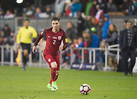 San Jose, Ca - Friday March 24, 2017: Jorge Villafaña during the USA Men's National Team defeat of Honduras 6-0 during their 2018 FIFA World Cup Qualifying Hexagonal match at Avaya Stadium.