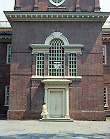 Philadelphia: Independence Hall--entrance.