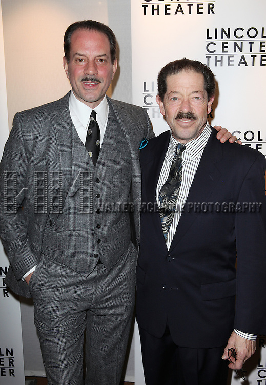 Danny Mastrogiorgio & Jonathan Hadary attending the Broadway Opening Night After Party for The Lincoln Center Theater Production of 'Golden Boy' at the Millennium Broadway in New York City on December 6, 2012