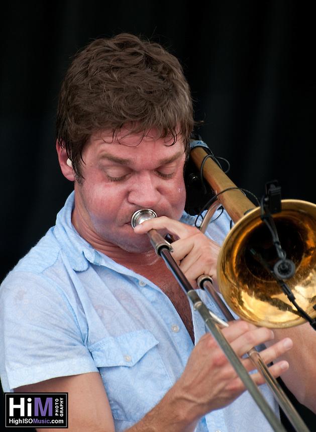 Bonerama at Oyster Festival 2010