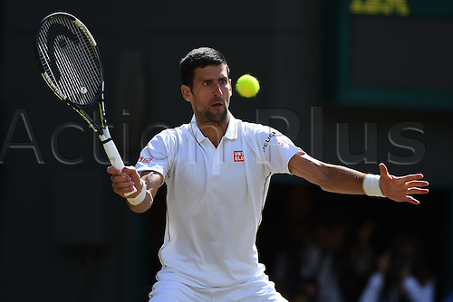 02.07.2016. All England Lawn Tennis and Croquet Club, London, England. The Wimbledon Tennis Championships Day Six.  Novak Djokovic (Ser)