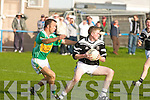 Ardfert's Darren Wallace and John Mitchels M Moloney..   Copyright Kerry's Eye 2008