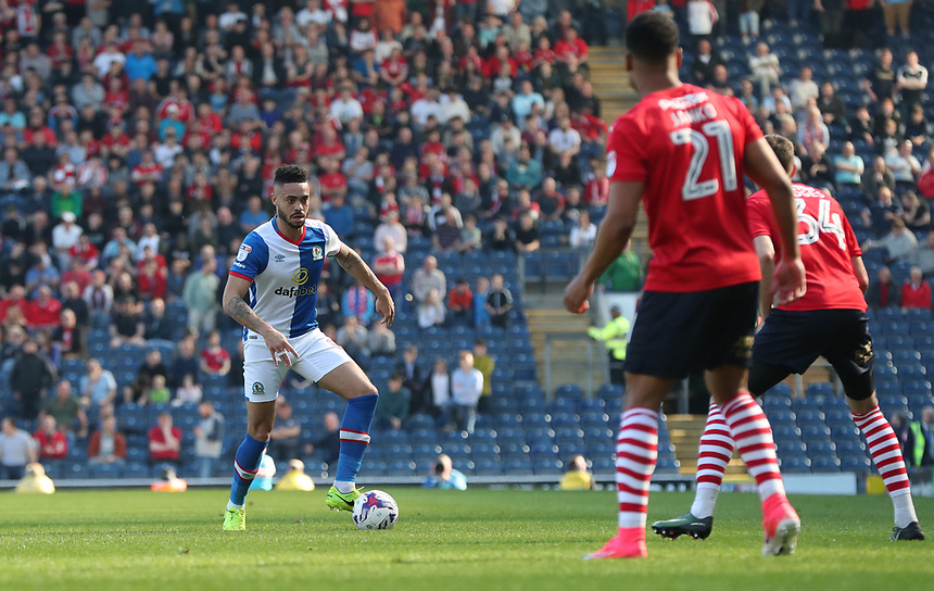 Blackburn Rovers' Tyler Magloire<br /> <br /> Photographer Rachel Holborn/CameraSport<br /> <br /> The EFL Sky Bet Championship - Blackburn Rovers v Barnsley - Saturday 8th April 2017 - Ewood Park - Blackburn<br /> <br /> World Copyright &copy; 2017 CameraSport. All rights reserved. 43 Linden Ave. Countesthorpe. Leicester. England. LE8 5PG - Tel: +44 (0) 116 277 4147 - admin@camerasport.com - www.camerasport.com