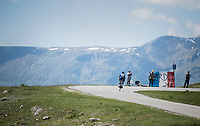 solo flight by Enric Mas (ESP/QuickStep Floors) <br /> <br /> stage 7: Aoste &gt; Alpe d'Huez (168km)<br /> 69th Crit&eacute;rium du Dauphin&eacute; 2017