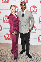 Joanne Clifton and Ore Oduba<br /> arriving for the TV Choice Awards 2017 at The Dorchester Hotel, London. <br /> <br /> <br /> ©Ash Knotek  D3303  04/09/2017