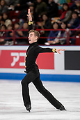 24th March 2018, Mediolanum Forum, Milan, Italy; ISU World Figure Skating Championships Milan 2018; Matteo Rizzo