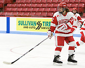 Jill Cardella (BU - 22) - The Boston University Terriers defeated the visiting Northeastern University Huskies 3-0 on Tuesday, December 7, 2010, at Walter Brown Arena in Boston, Massachusetts.