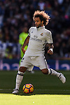 Marcelo Vieira Da Silva of Real Madrid in action during their La Liga match between Real Madrid and Deportivo Leganes at the Estadio Santiago Bernabéu on 06 November 2016 in Madrid, Spain. Photo by Diego Gonzalez Souto / Power Sport Images