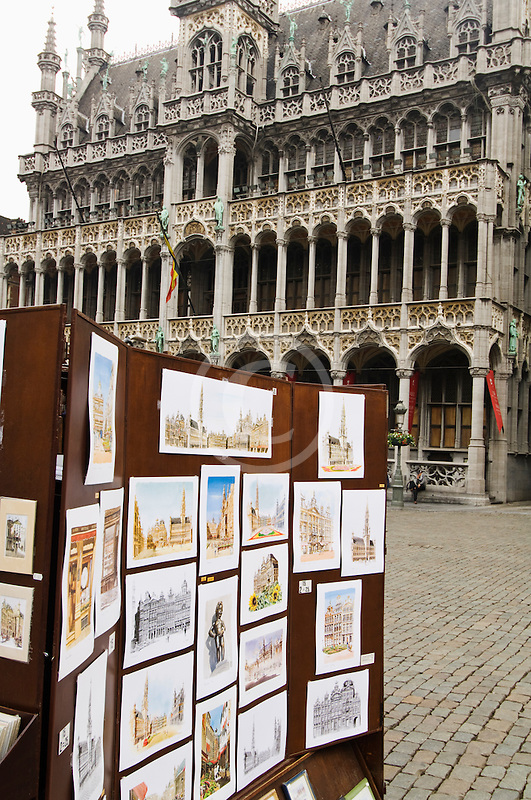 Belgium, Brussels, City of Brussels Museum, Grand Place