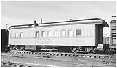 #0292 operators card B6.  Side view.<br /> D&amp;RGW  Alamosa, CO  Taken by Richardson, Robert W. - 1/6/1948