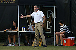 10 September 2016: Wake Forest head coach Bobby Muuss. The Wake Forest University Demon Deacons hosted the University of Virginia Cavaliers in a 2016 NCAA Division I Men's Soccer match. Wake Forest won the game 1-0 in sudden death overtime.