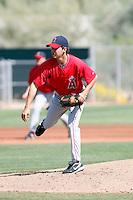 Eddie McKiernan, Los Angeles Angels 2010 minor league spring training..Photo by:  Bill Mitchell/Four Seam Images.