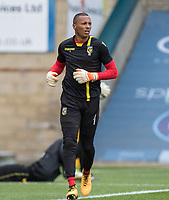 Goalkeeper Eloy ROOM of Vitesse during the Friendly match between Reading and Vitesse Arnhem at Adams Park, High Wycombe, England on 29 July 2017. Photo by Kevin Prescod / PRiME Media Images.<br /> **EDITORIAL USE ONLY FA Premier League and Football League are subject to DataCo Licence.