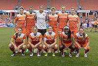 Houston, TX - Friday April 29, 2016: Houston Dash Team Photo at BBVA Compass Stadium. The Houston Dash tied Sky Blue FC 0-0.