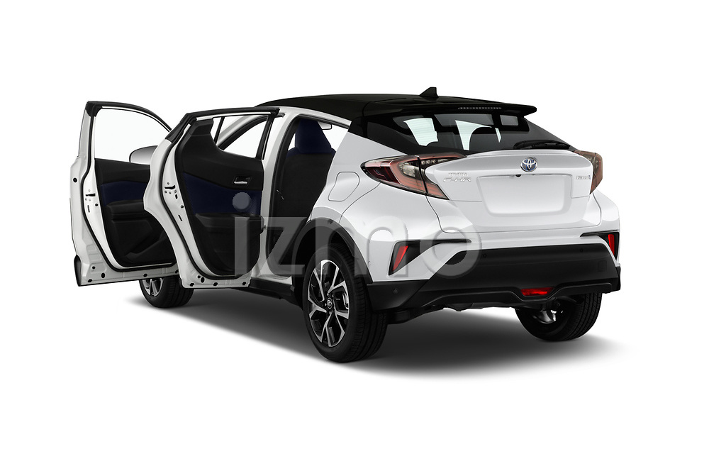 Car images close up view of a 2018 Toyota C-HR C-LUB hybrid 5 Door SUV doors