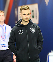 Joshua Kimmich (Deutschland, Germany) im Spielertunnel - 16.10.2018: Frankreich vs. Deutschland, 4. Spieltag UEFA Nations League, Stade de France, DISCLAIMER: DFB regulations prohibit any use of photographs as image sequences and/or quasi-video.