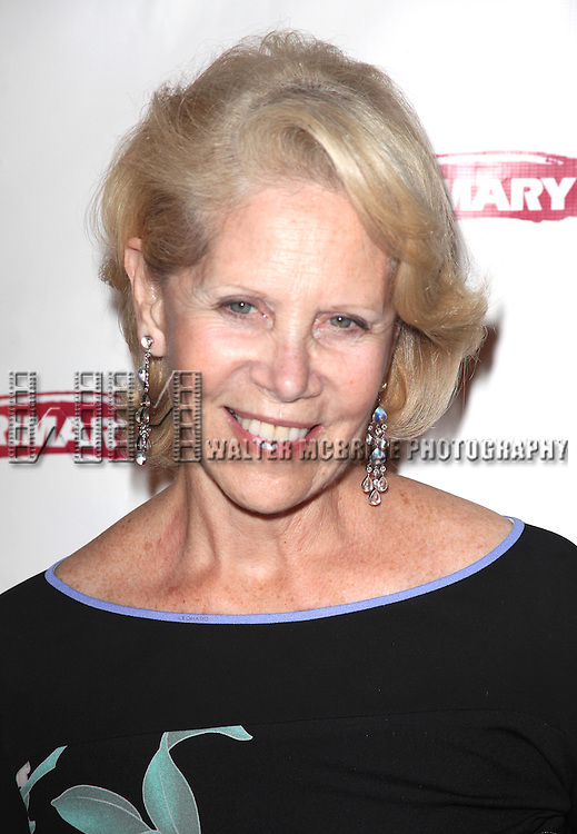 Daryl Roth.attending the Opening Night Party for the Primary Stages Production of 'Olive and the Bitter Herbs' in New York City. ...