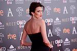 Nieves Alvarez attends to the Red Carpet of the Goya Awards 2017 at Madrid Marriott Auditorium Hotel in Madrid, Spain. February 04, 2017. (ALTERPHOTOS/BorjaB.Hojas)