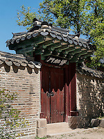 Arbeitsr&auml;ume des Kronprinzes, Seongjeonggak, im Changdeokgung Palast, Seoul, S&uuml;dkorea, Asien, UNESCO-Weltkulturerbe<br /> working quarter of crown prince in palace Changdeokgung,  Seoul, South Korea, Asia UNESCO world-heritage
