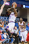 Texas-Arlington Mavericks guard Shaquille White-Miller (12) in action during the game between the Seattle Redhawks and the Texas Arlington Mavericks at the College Park Center arena in Arlington, Texas. Seattle defeats Arlington 61 to 44....