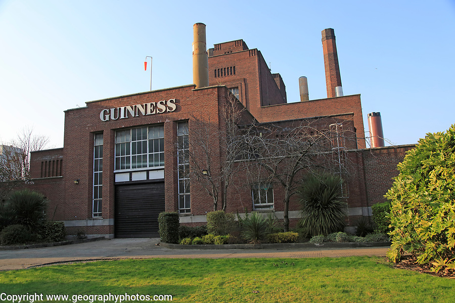 Power House building, Guinness Brewery, St. James' Gate, Dublin, Ireland, architect F.R.M. Woodhouse, 1948