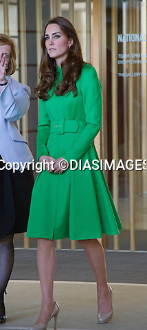 24.04.2014:Canberra: KATE AND PRINCE WILLIAM<br /> visit the National Portrait Gallery in Canberra, Australia where they met with several portrait sitters and viewed artworks.<br /> Mandatory Photo Credit: &copy;Francis Dias/DIASIMAGES<br /> <br /> **ALL FEES PAYABLE TO: &quot;NEWSPIX INTERNATIONAL&quot;**<br /> <br /> PHOTO CREDIT MANDATORY!!: NEWSPIX INTERNATIONAL(Failure to credit will incur a surcharge of 100% of reproduction fees)<br /> <br /> IMMEDIATE CONFIRMATION OF USAGE REQUIRED:<br /> DiasImages, 31 Chinnery Hill, Bishop's Stortford, ENGLAND CM23 3PS<br /> Tel:+441279 324672  ; Fax: +441279656877<br /> Mobile:  0777568 1153