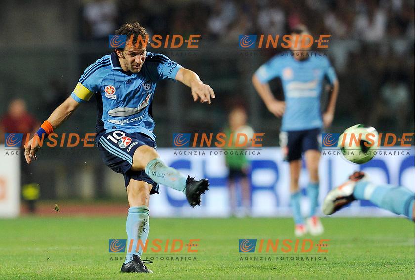 Alessandro Del Piero<br /> Padova 07-08-2013 Amichevole Padova - Sidney FC <br /> Foto Nicolo Zangirolami / Image / Insidefoto