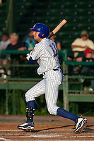 Ryan Flaherty (11) of the Daytona Cubs during a game vs. the St. Lucie Mets May 17 2010 at Jackie Robinson Ballpark in Daytona Beach, Florida. St. Lucie won the game against Daytona by the score of 5-2.  Photo By Scott Jontes/Four Seam Images