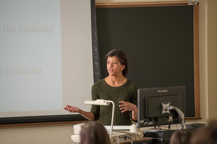Leah Butler, Gradutea Student, Sociology