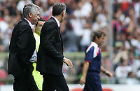 "delusione ancelotti<br /> Genova 14/09/2008 Stadio ""Ferraris"" <br /> Calcio Serie A Tim 2008-2009 <br /> Genoa-Milan<br /> Foto Davide Elias Insidefoto"